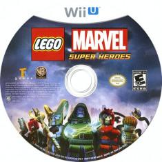 CD DVD joc original consola Nintendo Wii U Lego Marver Super Heroes impecabil, Simulatoare, Toate varstele, Multiplayer