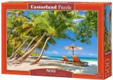 Puzzle Plaja Paradis, 500 piese, castorland