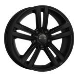 Jante AUDI A1 6J x 15 Inch 5X100 et38 - Mak Sachsen W Mat Black - pret / buc, 6, 5