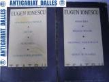 Eugen Ionescu -Teatru - 2 volume (8 piese)