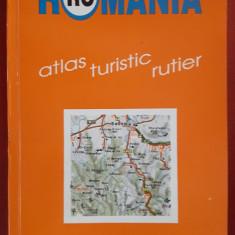 Romania - Atlas turistic rutier - Dragomir Vasile