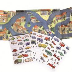 Set magnetic - Orasul cu masini