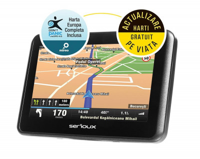 "GPS 4.3"" SERIOUX URBANPILOT FE UPQ430FE foto"