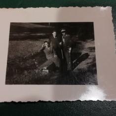 BF - 101 - FOTOGRAFIE FOARTE VECHE - MILITARI - ANII 1940
