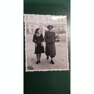 BF - 102 - FOTOGRAFIE FOARTE VECHE - MILITARI - ANII 1940