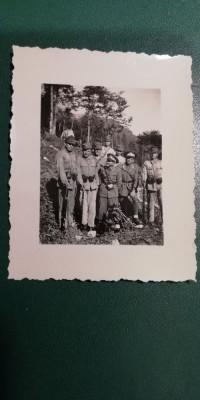 BF - 108 - FOTOGRAFIE FOARTE VECHE - MILITARI - ANII 1940 foto