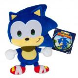 Sonic Boom, Jucarie de Plus Emoji Happy Sonic, 20 cm