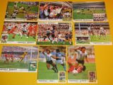 Lot 9 foto-tip carte postala MARADONA si ARGENTINA- Mexic 1986(timbru+stampila)