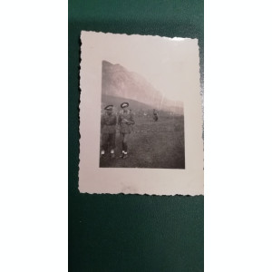 BF - 106 - FOTOGRAFIE FOARTE VECHE - MILITARI - ANII 1940