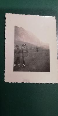 BF - 106 - FOTOGRAFIE FOARTE VECHE - MILITARI - ANII 1940 foto