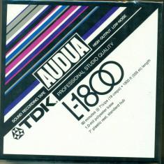 Banda magnetofon TDK L -1800 ( 1800ft/555m)- NOUA