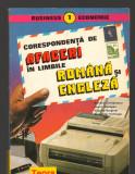 (C8178) CORESPONDENTA DE AFACERI IN LIMBILE ROMANA SI ENGLEZA DE A. CHIRIACESCU