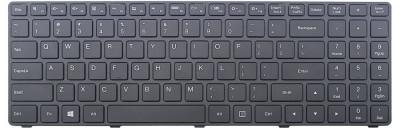 Tastatura laptop noua LENOVO Ideapad 100-15IBD Black Frame Black WIN8 US OEM foto