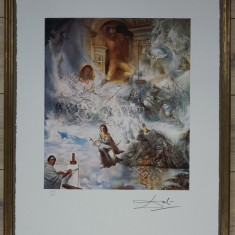Salvador Dali - The Oecuménique Counsil, Abstract, Cerneala, Altul