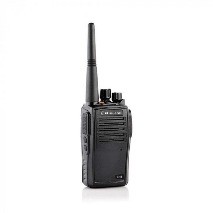 Resigilat : Statie radio PMR portabila Midland G15 waterproof IP67 Cod C1127
