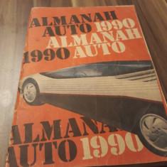ALMANAH AUTO 1990, Alta editura