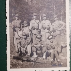 BF - 110 - FOTOGRAFIE FOARTE VECHE - MILITARI - ANII 1940
