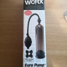 Pompa pentru penis PUMP WORX EURO NEAGRA