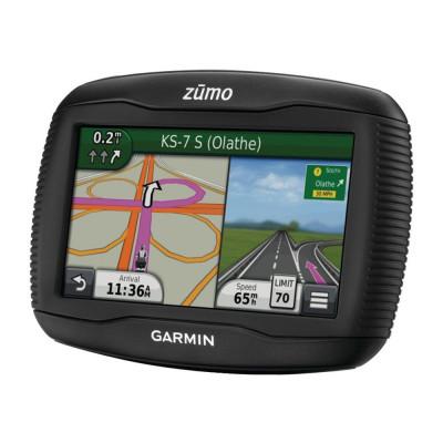 Resigilat : Sistem de navigatie GPS pt moto Garmin Zūmo 395LM 4.3inch, harta incl foto