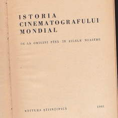 GEORGES SADOUL - ISTORIA CINEMATOGRAFULUI MONDIAL