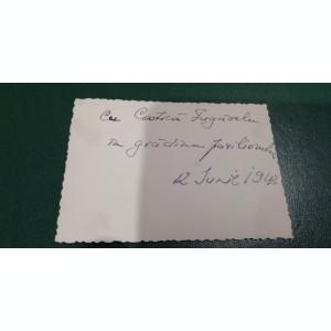 BF - 107 - FOTOGRAFIE FOARTE VECHE - MILITARI - ANII 1940