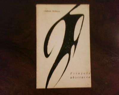 Gabriela Melinescu Fiintele abstracte, ed. princeps, tiraj 2150 exemplare foto