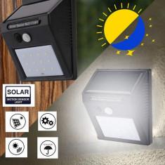 Lampa cu LED incarcare solara si senzor de miscare 12 x LED C249