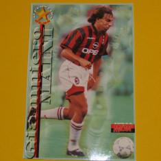Foto fotbal - tip carte postala-jucatorul Giampiero Maini (AC Milan)