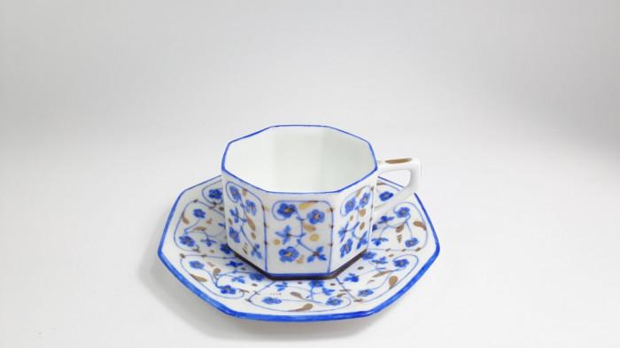 L  Ceasca veche de cafea, Rosenthal, pictata manual cana portelan stare perfecta