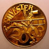 1.080 JETON GERMANIA COSAR SILVESTER NOROC SANATATE SUCCES 2003 23mm