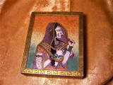 Cutie, caseta bijuterii, orientala, pictata manual, colectie, cadou