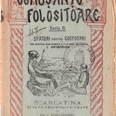 Scarlatina și alte boli molipsitoare