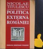 Politica externa a Romaniei Nicolae Titulescu