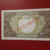 Bancnota specimen 1000 lei 1936