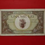 Bancnota 1000 lei 1936 cu supratipar