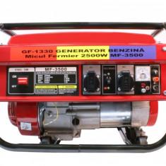 Generator electric monofazat pe benzina Micul Fermier, 2800W , 4Cp
