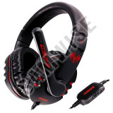 Casti Gaming SOMIC G923 Black