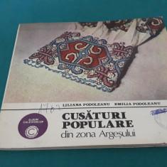 CUSĂTURI POPULARE DIN ZONA ARGEȘULUI/ LILIANA PODOLEANU, EMILIA PODOLEANU/1983