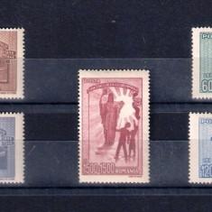 ROMANIA 1947 - CASA SCOALELOR - LP 213, Nestampilat