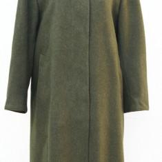 Palton    Steinbock lana si alpaca, Khaki, M/L