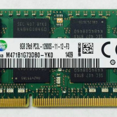 Memorii Laptop Samsung 8GB DDR3 PC3L-12800S 1600Mhz 1.35V