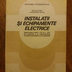 Instalatii si echipamente electrice - Tehnologia meseriei / R2S, Alta editura