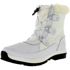 Bearpaw fete Bethany White Ankle-High Leather Boot, 32