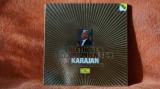 Disc vinil Beethoven Simfonia 5&9 dirijor H. Karajan, Deutsche Grammophon