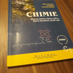 MANUAL CHIMIE CL. XII C1 MARIUS ANDRUH FILIERA TEORETICA PROFIL REAL MISTRAL2014, Clasa 12