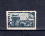 ROMANIA 1945 - PODUL DE LA CERNAVODA - LP 180 I