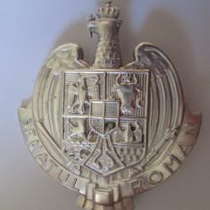 Rara! Insigna regalista Senator-Senatul Roman modelul mare-fara inchizatoare ac