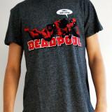 Tricou MARVEL Deadpool - XL - NOU, Gri
