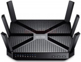 Router Wireless TP-Link AC3200, Gigabit, Tri-Band, 3200 Mbps, 6 x Antene Externe