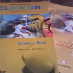 CLICK ON STUDENTS 3 BOOK MANUAL LIMBA ENGLEZA L3 CLASA X MANUAL NOU
